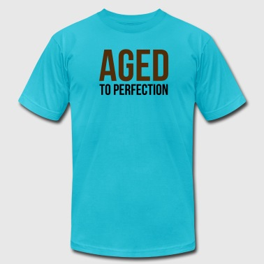 Aged To Perfection 1 (2c)++ - Men's Fine Jersey T-Shirt