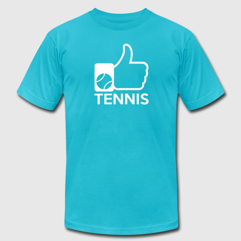 Like tennis - Men's Fine Jersey T-Shirt
