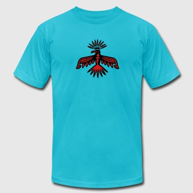 Thunderbird - Native Symbol / Totem, 2c / - Men's Fine Jersey T-Shirt