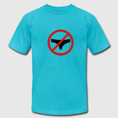 No underwear - Men's Fine Jersey T-Shirt