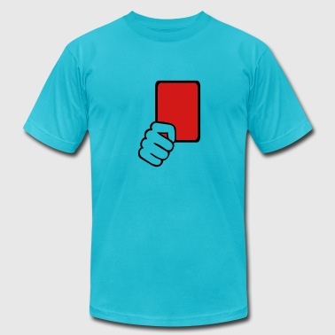 Red card Referee - Men's Fine Jersey T-Shirt
