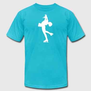 ice skating - Men's Fine Jersey T-Shirt