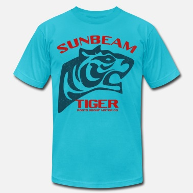 Sunbeam Sunbeam Tiger Cars - Men's Fine Jersey T-Shirt