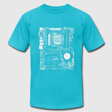 Mainboard - Nerd & Geek Hardware - Men's Fine Jersey T-Shirt