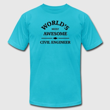 Awesome Civil Engineer - Men's Fine Jersey T-Shirt