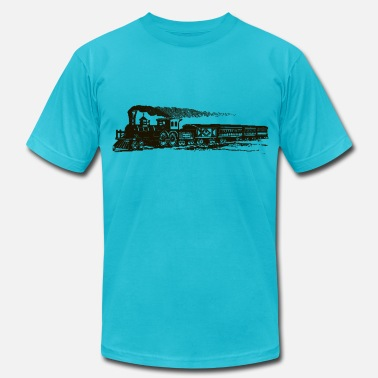 Sheldons train - Men's Fine Jersey T-Shirt