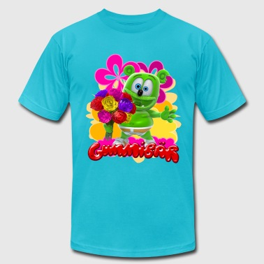 Gummibär Flowers - Men's Fine Jersey T-Shirt