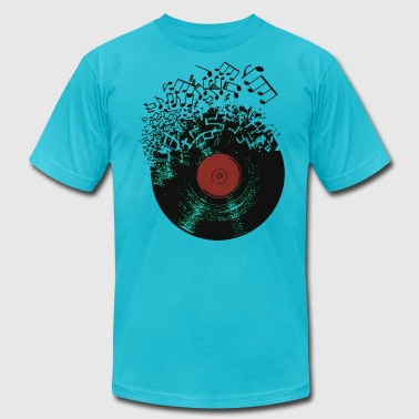 Record Music - Men's Fine Jersey T-Shirt