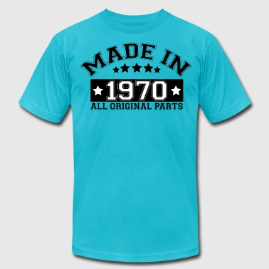 MADE IN 1970 ALL ORIGINAL PARTS - Men's Fine Jersey T-Shirt