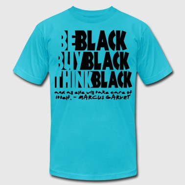 BE Black: GARVEY - Men's Fine Jersey T-Shirt