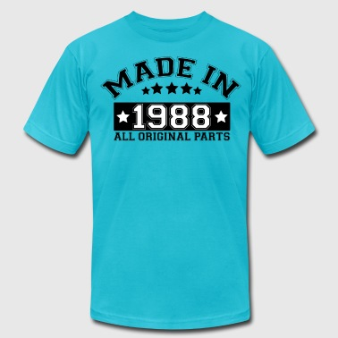 1988 All Original Parts MADE IN 1988 ALL ORIGINAL PARTS - Men's Fine Jersey T-Shirt
