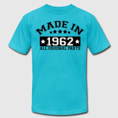 All Original Parts 1962 MADE IN 1962 ALL ORIGINAL PARTS - Men's Fine Jersey T-Shirt