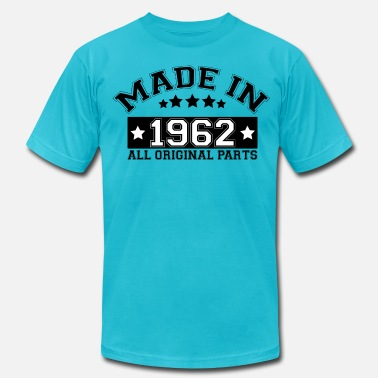 1962 All Original Parts MADE IN 1962 ALL ORIGINAL PARTS - Men's Jersey T-Shirt
