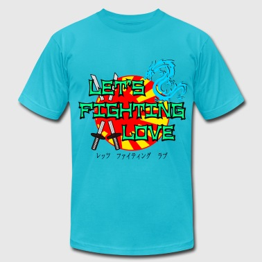 Let's Fighting Love - Men's Fine Jersey T-Shirt