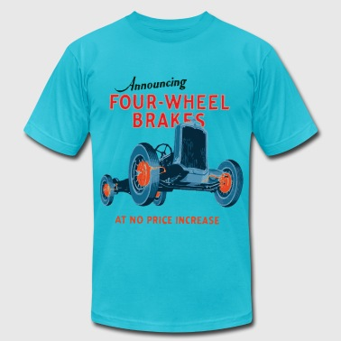 four wheel brakes - Men's Fine Jersey T-Shirt