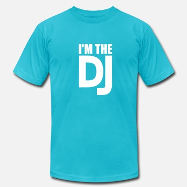 Dj DJ - Men's  Jersey T-Shirt