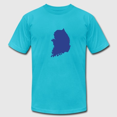 South Korea - Men's Fine Jersey T-Shirt