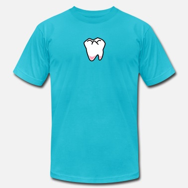 Tooth Dentist single tooth fairy dentist  - Men's  Jersey T-Shirt