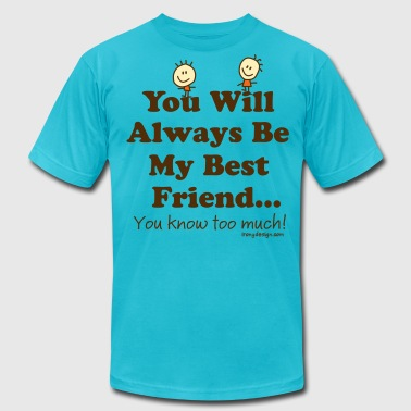 Best Friends Knows - Men's Fine Jersey T-Shirt