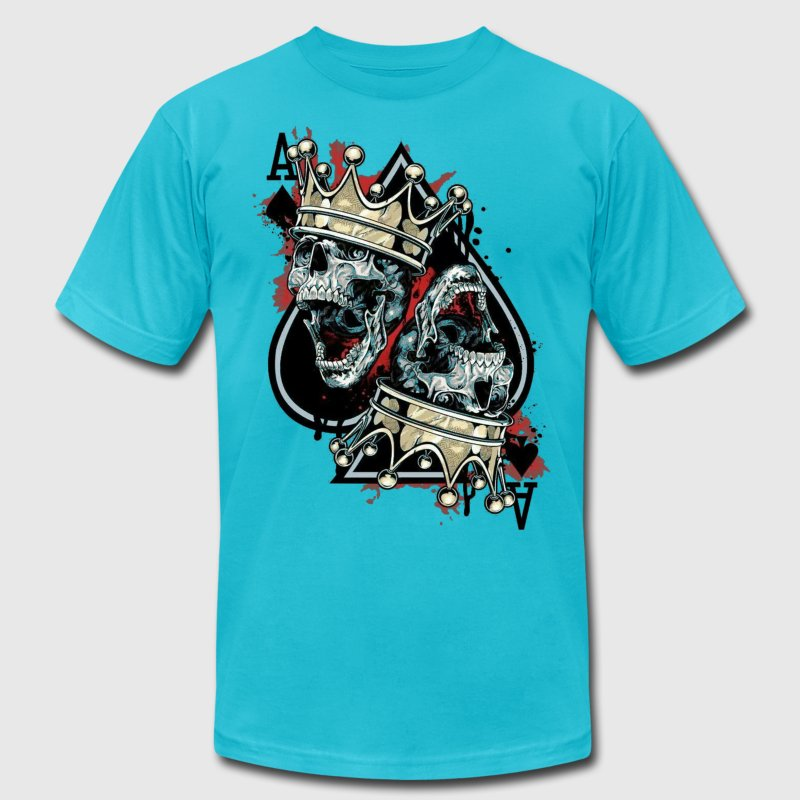king of spades - Men's Fine Jersey T-Shirt
