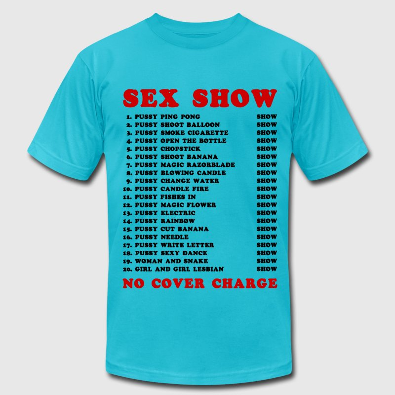 Bangkok Red Light Ping Pong Sex Show - Men's Fine Jersey T-Shirt