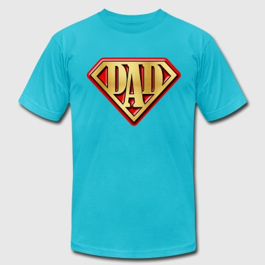 superdad - Men's Fine Jersey T-Shirt