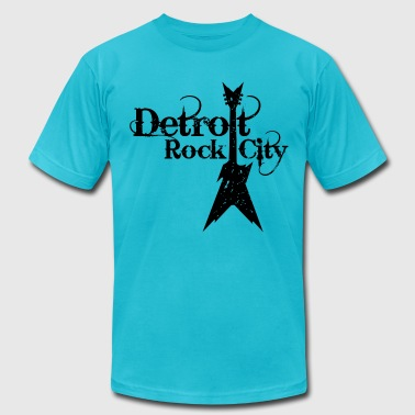 DETROIT ROCK CITY - Men's Fine Jersey T-Shirt