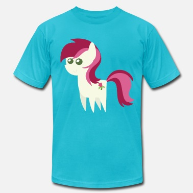 My Little Ponies Roseluck My Little Pony - Men's  Jersey T-Shirt