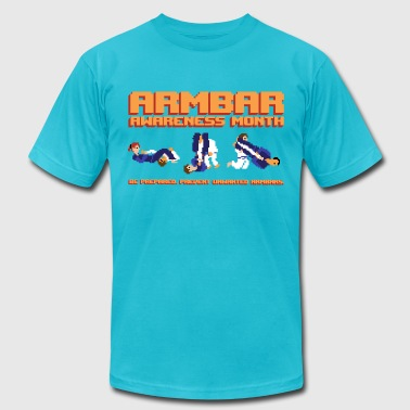 Armbar Awareness Month retro BJJ t-shirt - Men's Fine Jersey T-Shirt