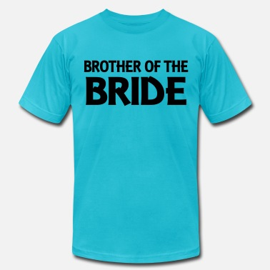 Wedding Party Brother of the Bride - Men's Jersey T-Shirt