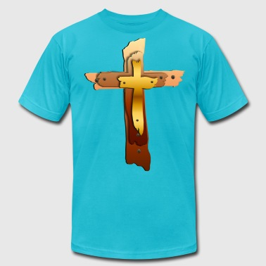Three Crosses - Men's Fine Jersey T-Shirt