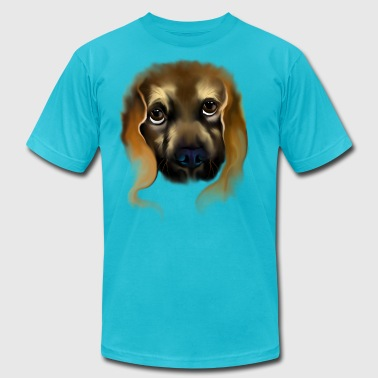 Big Doggy Eyes - Men's Fine Jersey T-Shirt