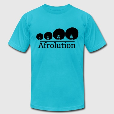 Afro Afrolution - Men's Fine Jersey T-Shirt