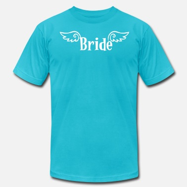 Nasty Stag Party bride logo with wings for a hens party - Men's  Jersey T-Shirt