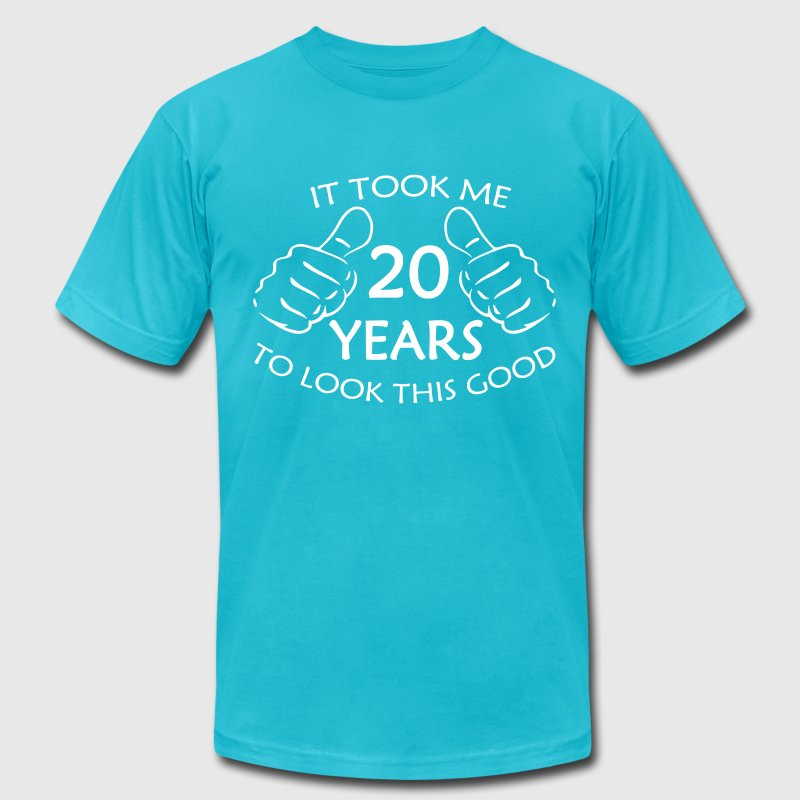 It Took Me 20 Years to Look This Good - Men's Fine Jersey T-Shirt