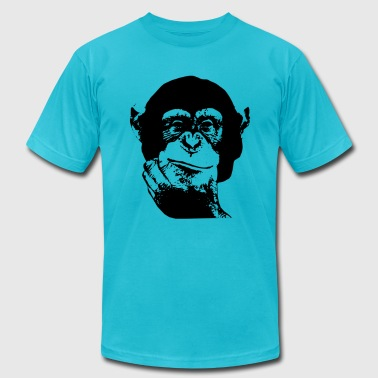 Think Chimp T-shirt - Men's Fine Jersey T-Shirt