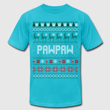 Pawpaw Ugly Christmas - Men's Fine Jersey T-Shirt