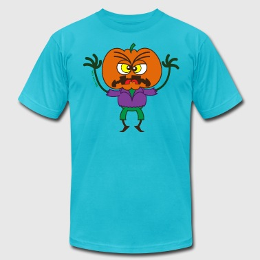 Scary Halloween Scarecrow - Men's Fine Jersey T-Shirt