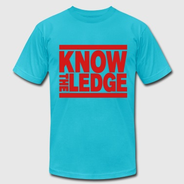 Know The Ledge - Men's Fine Jersey T-Shirt