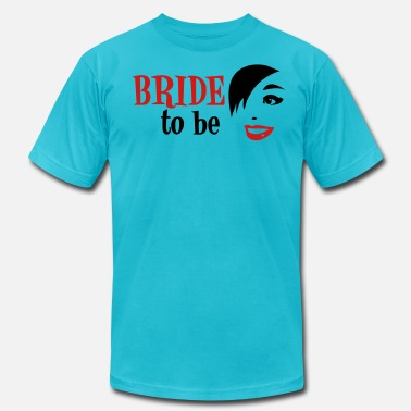 Nasty Stag Party WEDDING bride to be with vintage funky woman - Men's  Jersey T-Shirt