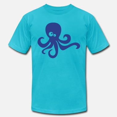 Squirter octopus - Men's  Jersey T-Shirt