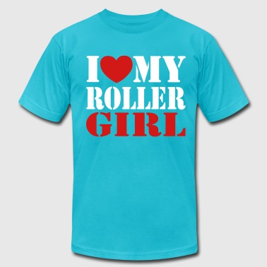 derby i love my derby girl - Men's Fine Jersey T-Shirt