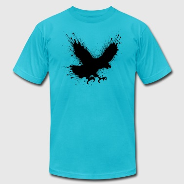 Street art bird - Men's Fine Jersey T-Shirt
