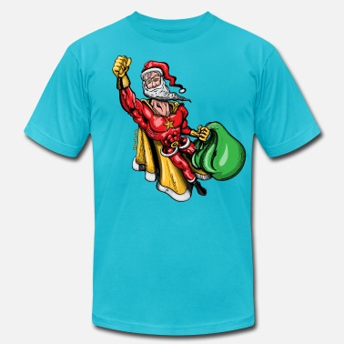 Muscle Santa Super Santa Claus - Men's  Jersey T-Shirt
