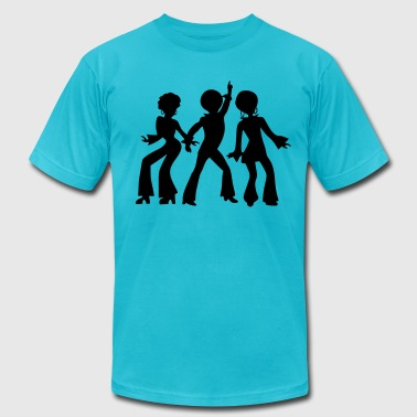 Retro dancing_people - Men's Fine Jersey T-Shirt