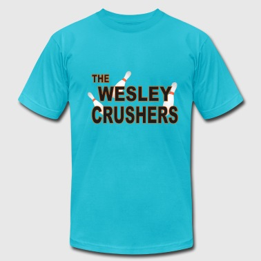 The Wesley Crushers - Men's Fine Jersey T-Shirt