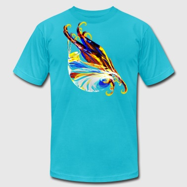 Fractal - Sea Creature - Men's Fine Jersey T-Shirt