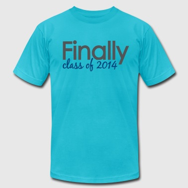 finally class of 2014 - Men's Fine Jersey T-Shirt