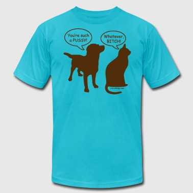 Pussy Silhouette You're Such a Pussy! - Men's Fine Jersey T-Shirt
