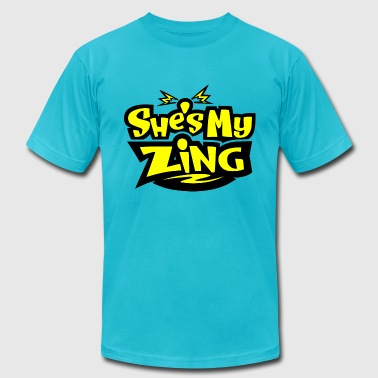 She's my Zing - Men's Fine Jersey T-Shirt